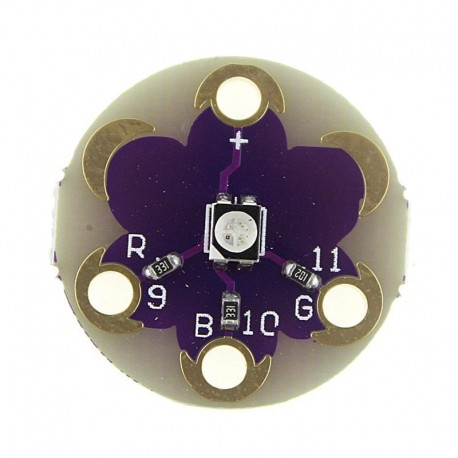 Lilypad Module tro color led rgb