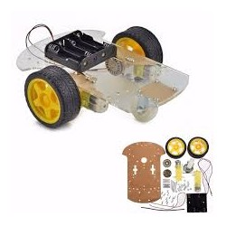 Chassis robot voiture intelligente 2WD